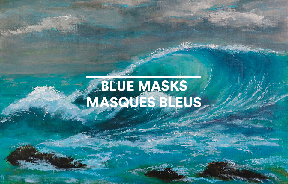 Picture of Blue Masks