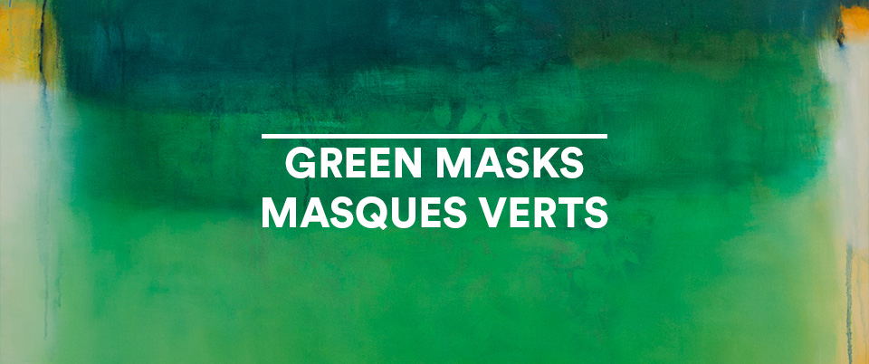 Picture of GREEN MASKS / MASQUES VERTS