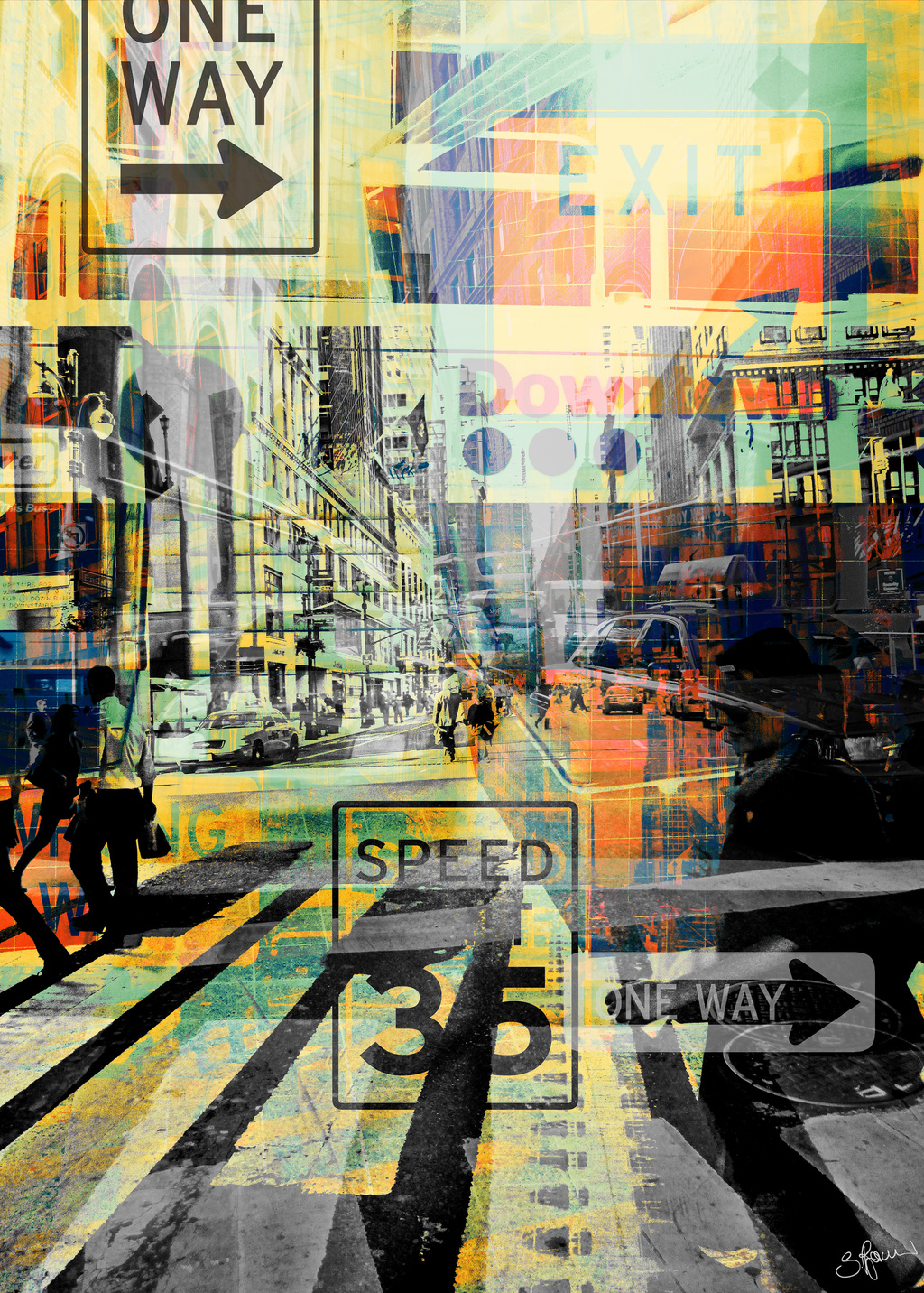 Picture of New York Style IV