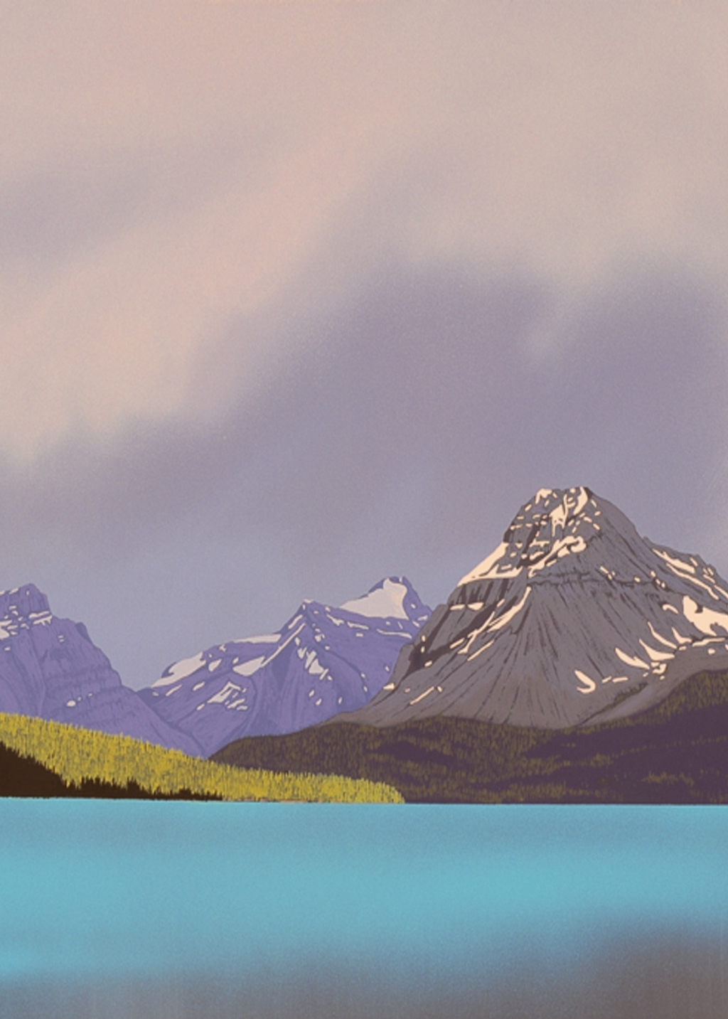 Picture of Storm, Bow Lake