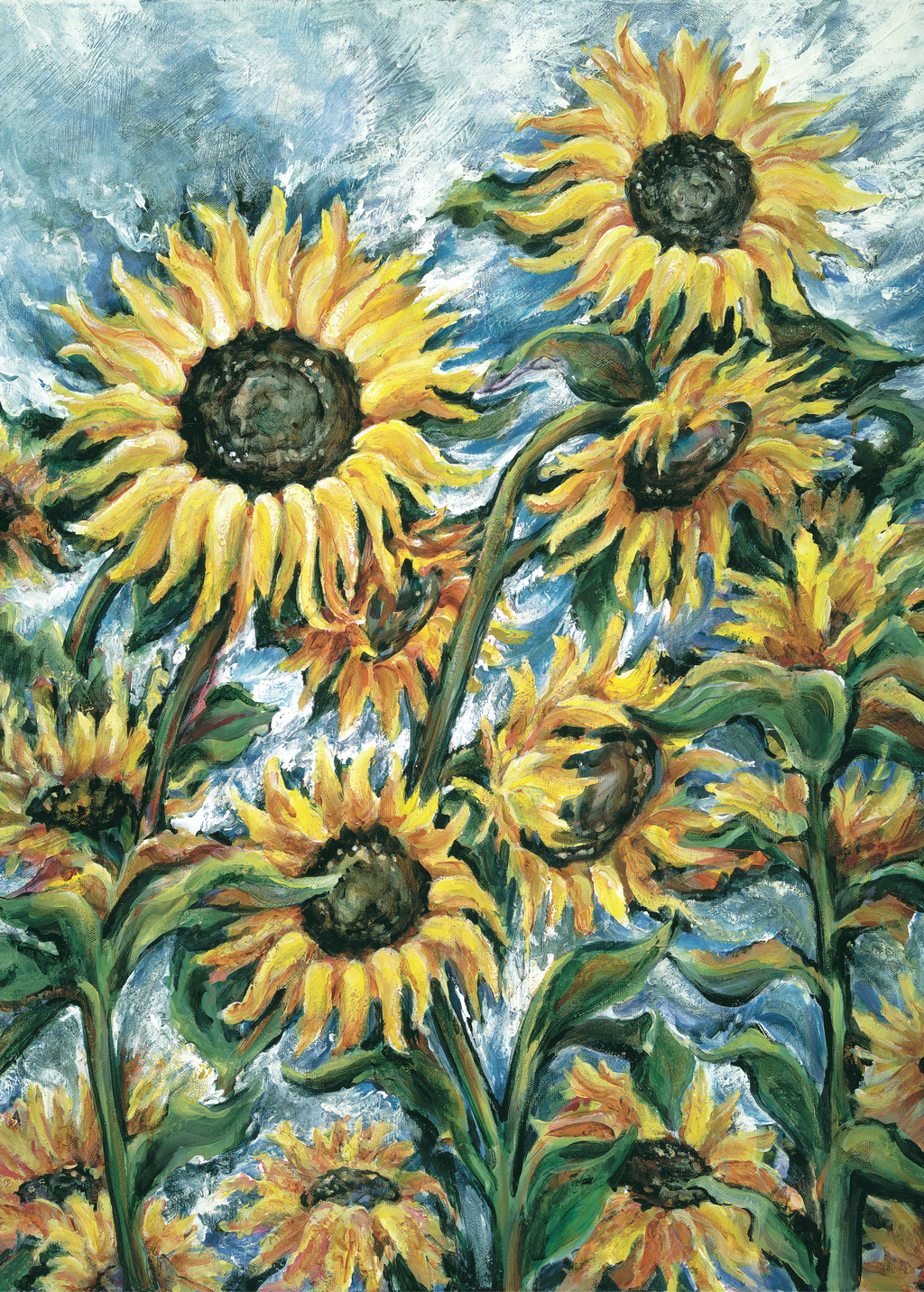 Picture of Sunflower Breeze