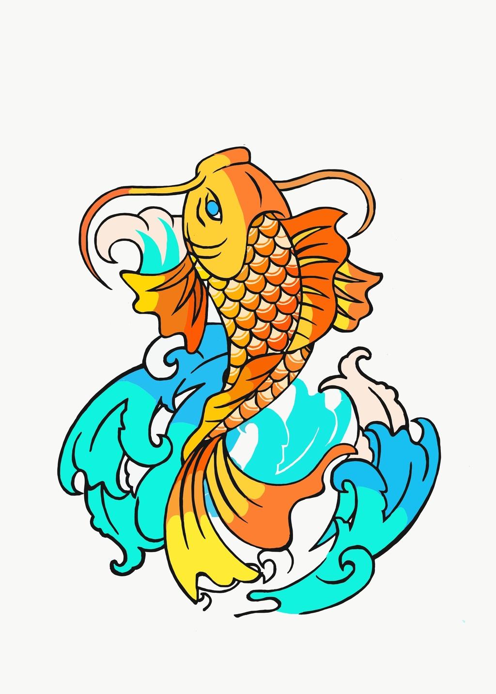 Picture of Koi Fish