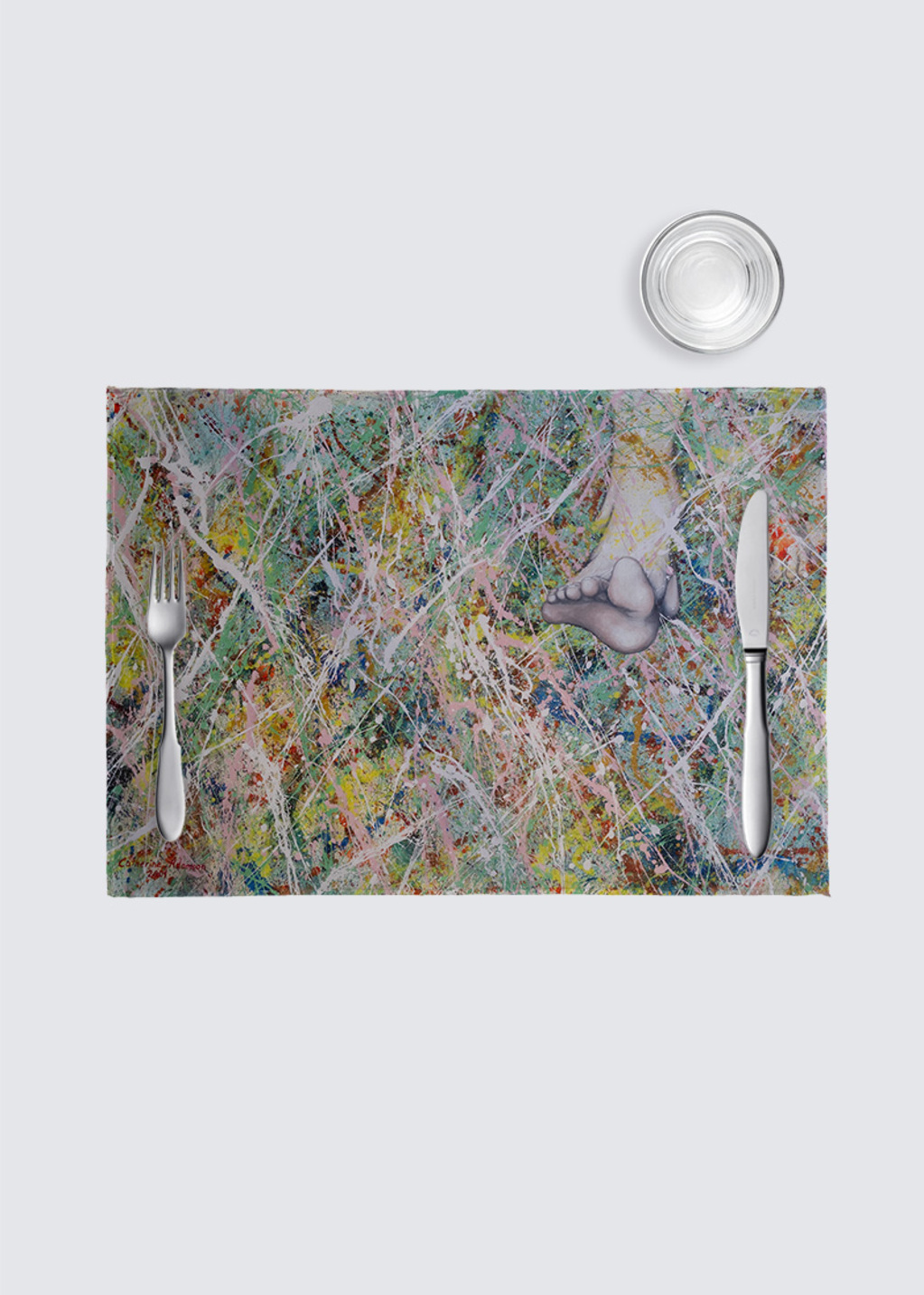 Picture of Moving On 4 Pack Nino Place Mat