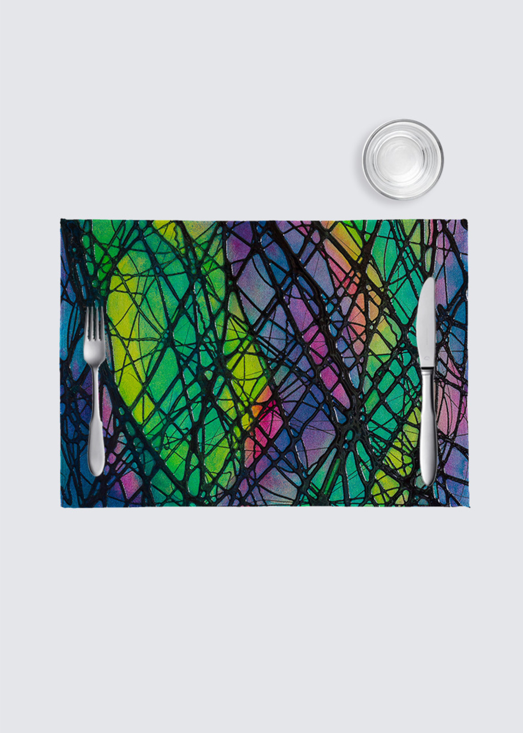 Picture of Northern Lights 4 Pack Nino Place Mat