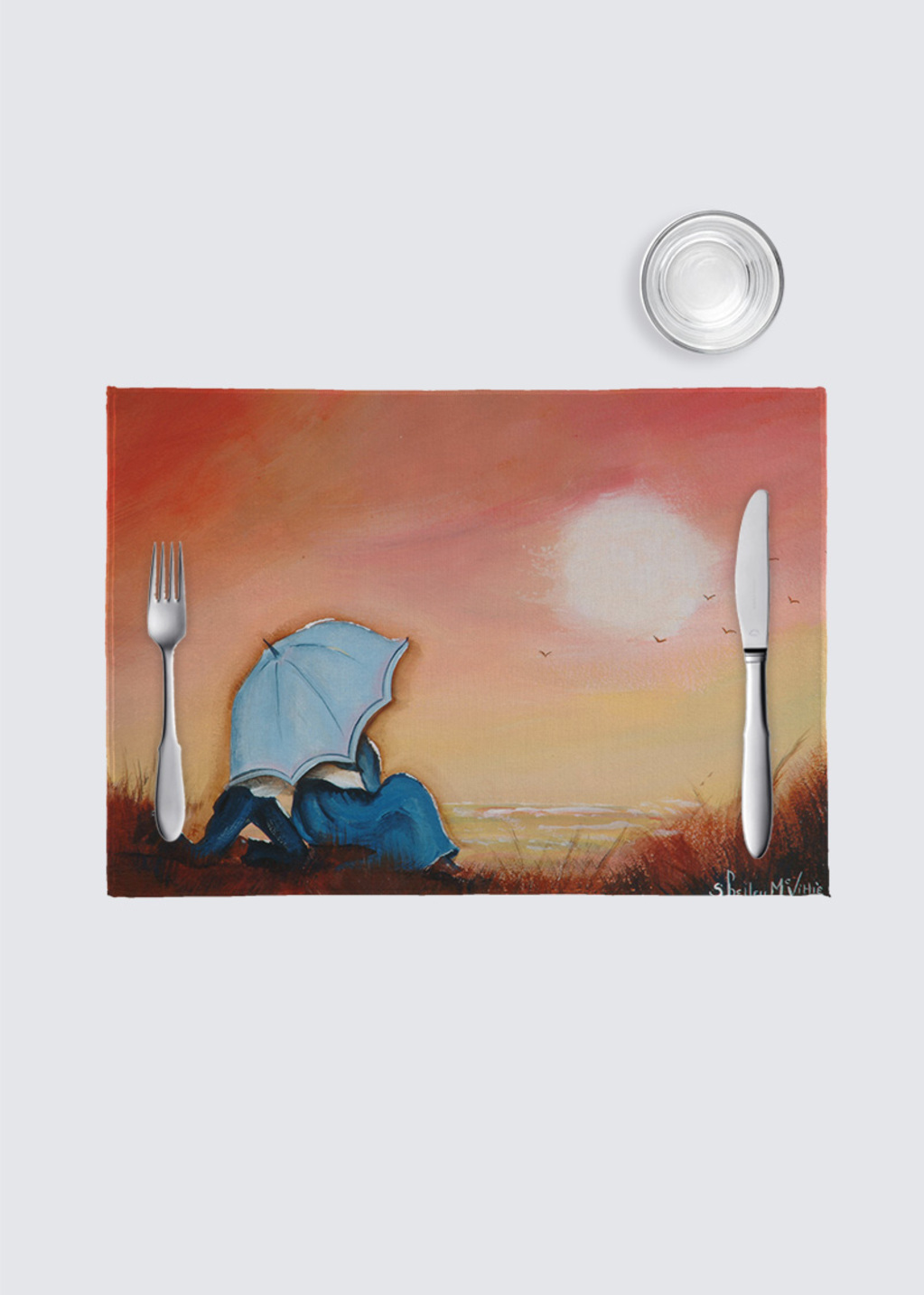 Picture of Silvery Moon Place Mats