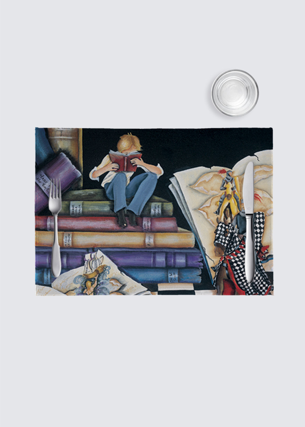 Picture of HIS STORY 4 Pack Nino Place Mat