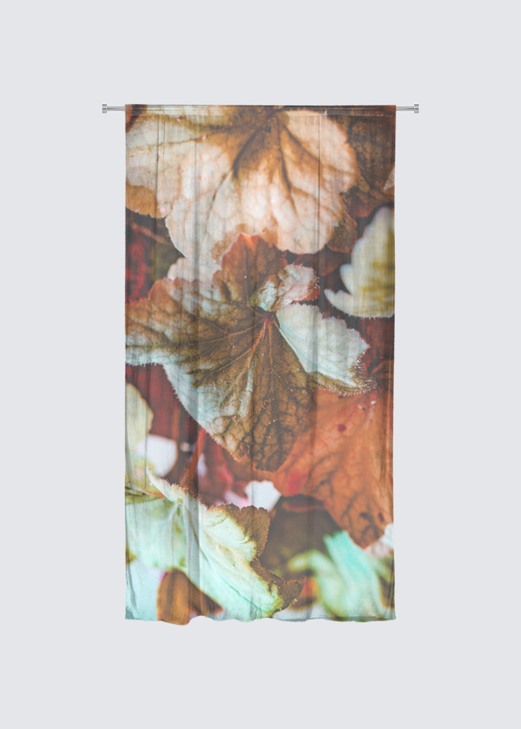 Picture of fall Rideau Flora in Knit Chiffon