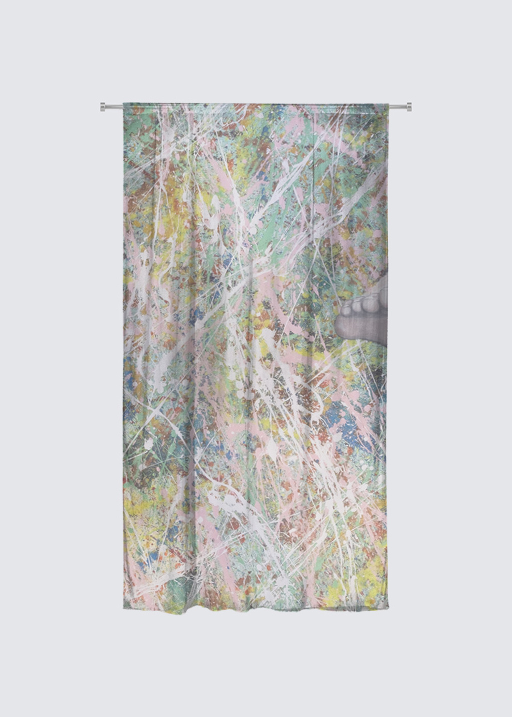 Picture of Moving On Rideau Flora in Knit Chiffon