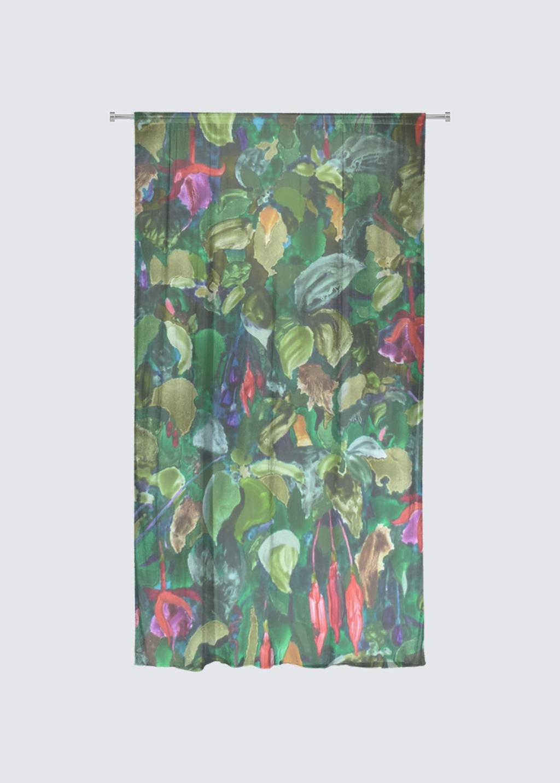 Picture of Fusha Rideau Flora in Knit Chiffon