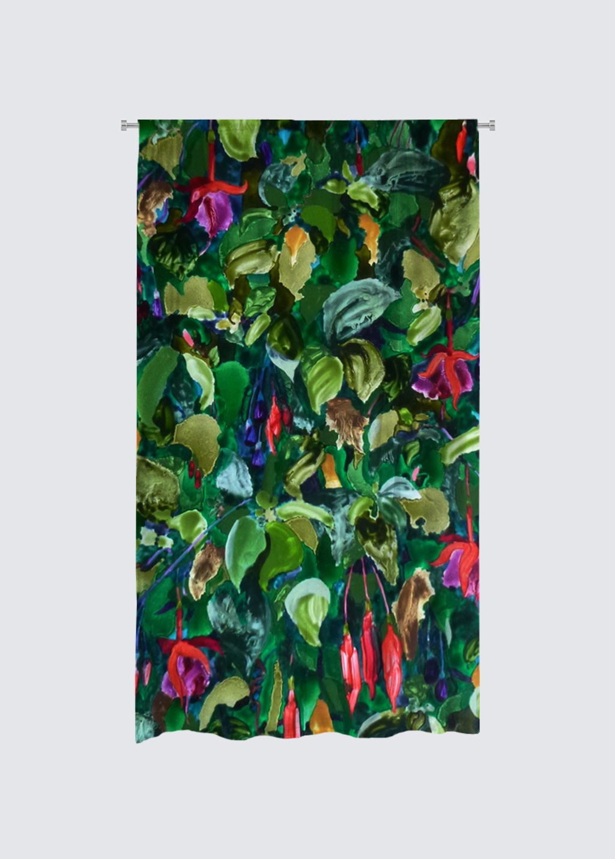 Picture of Fusha Rideau Flora in Scuba Knit