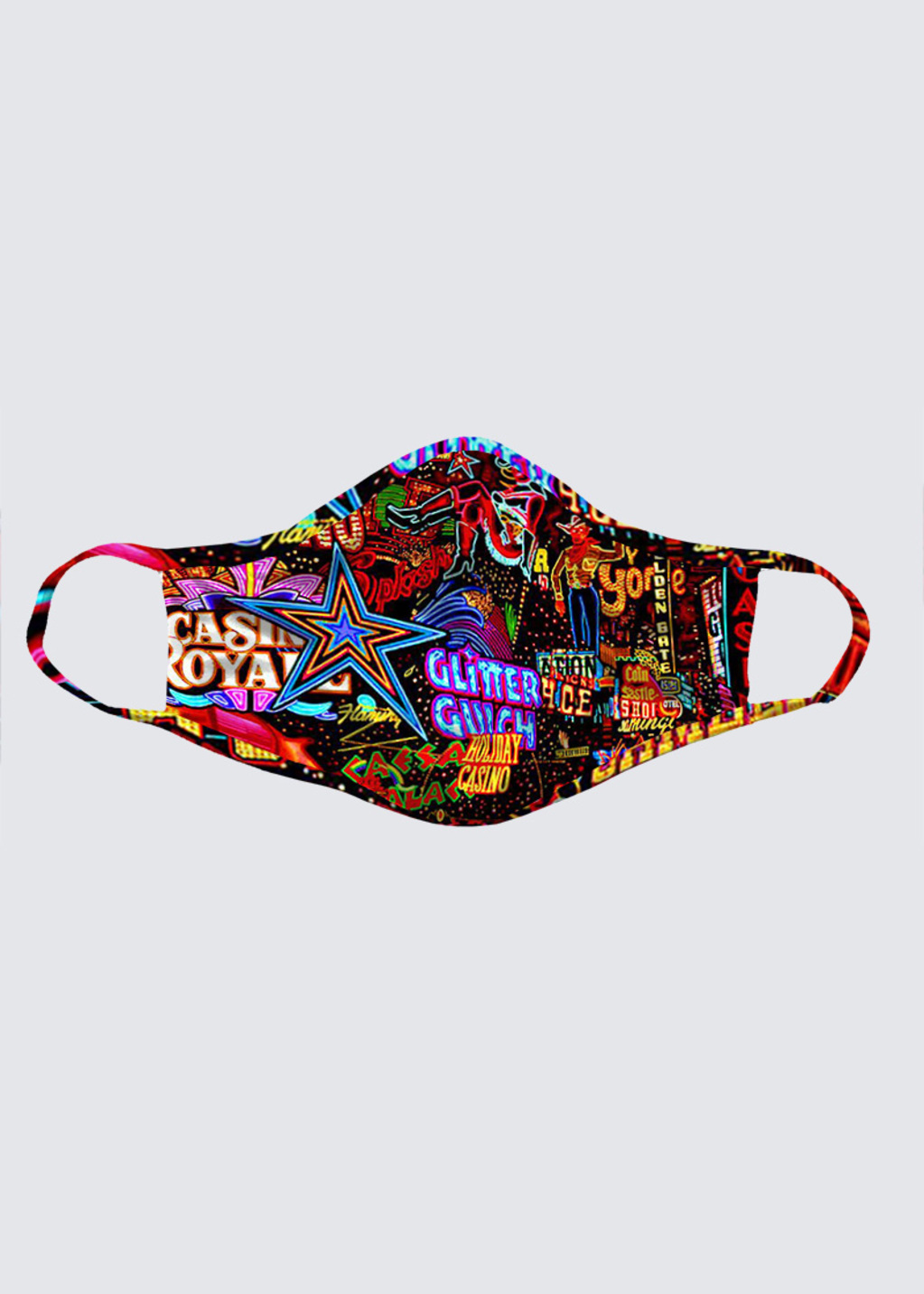 Picture of Vegas Lights Reusable Face Mask (pack of 2)