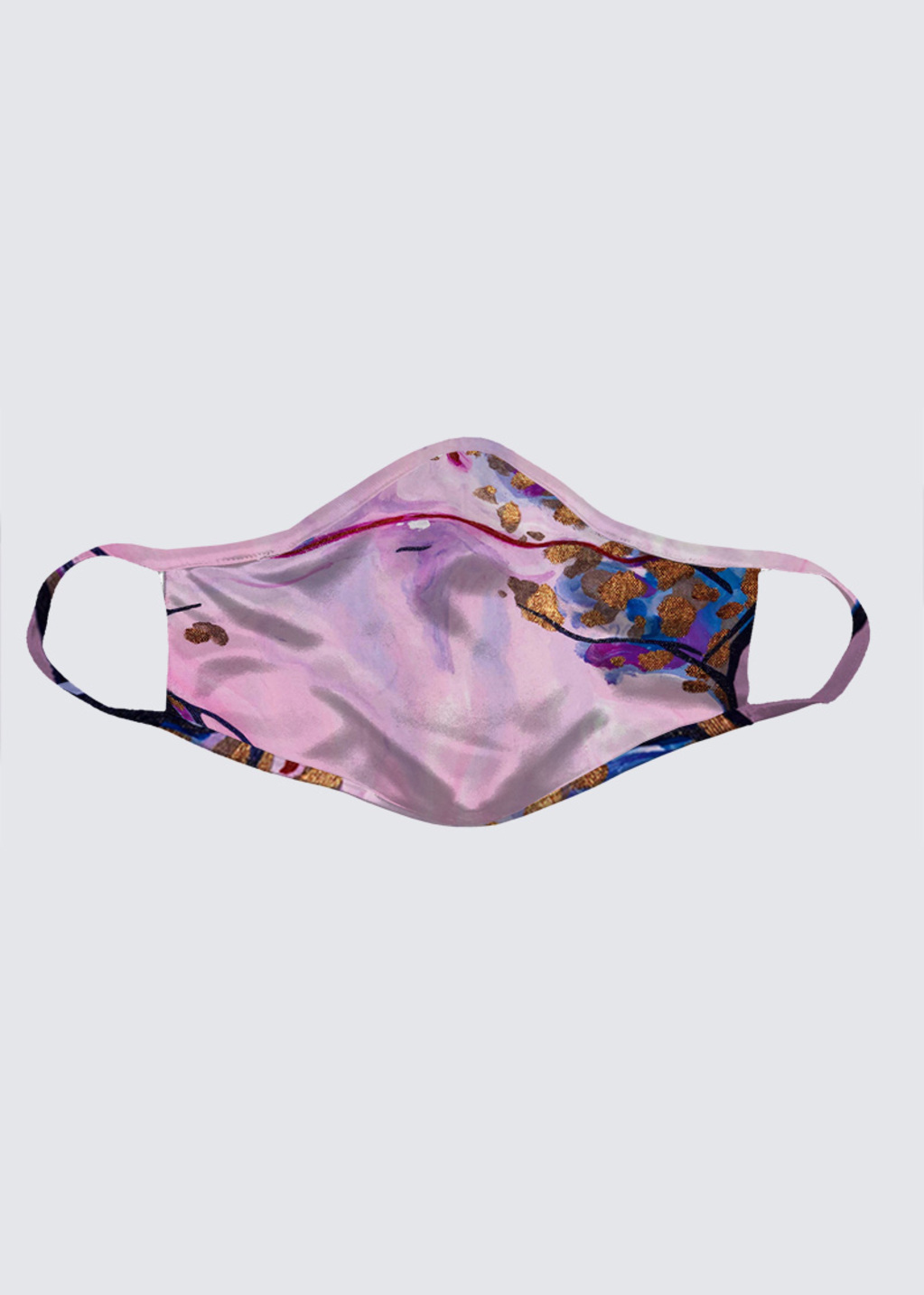 Picture of Spotted; A Smiling Leopard Gecko Reusable Face Mask (pack of 2)
