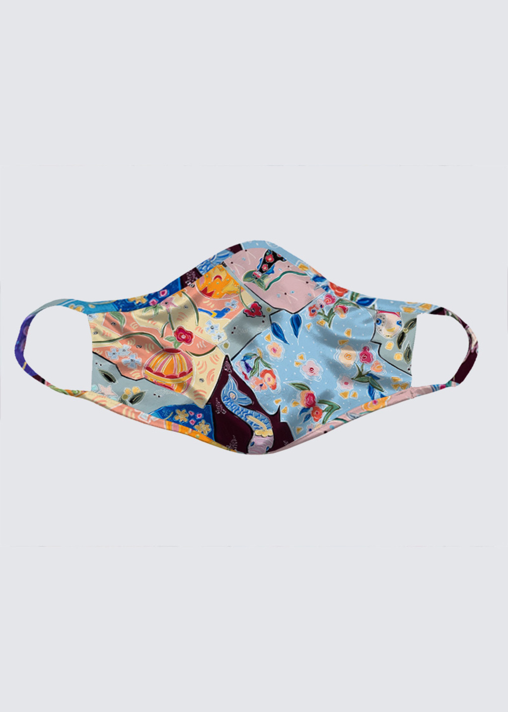 Picture of Lost in the Dream of the Floating World Reusable Face Mask (pack of 2)