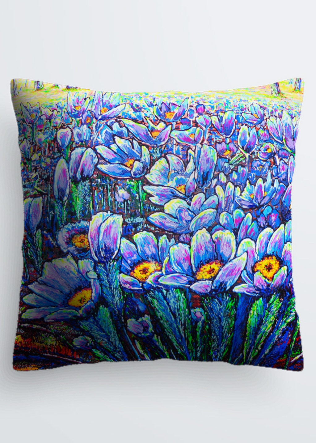 Picture of field flowers Pablo Pillow