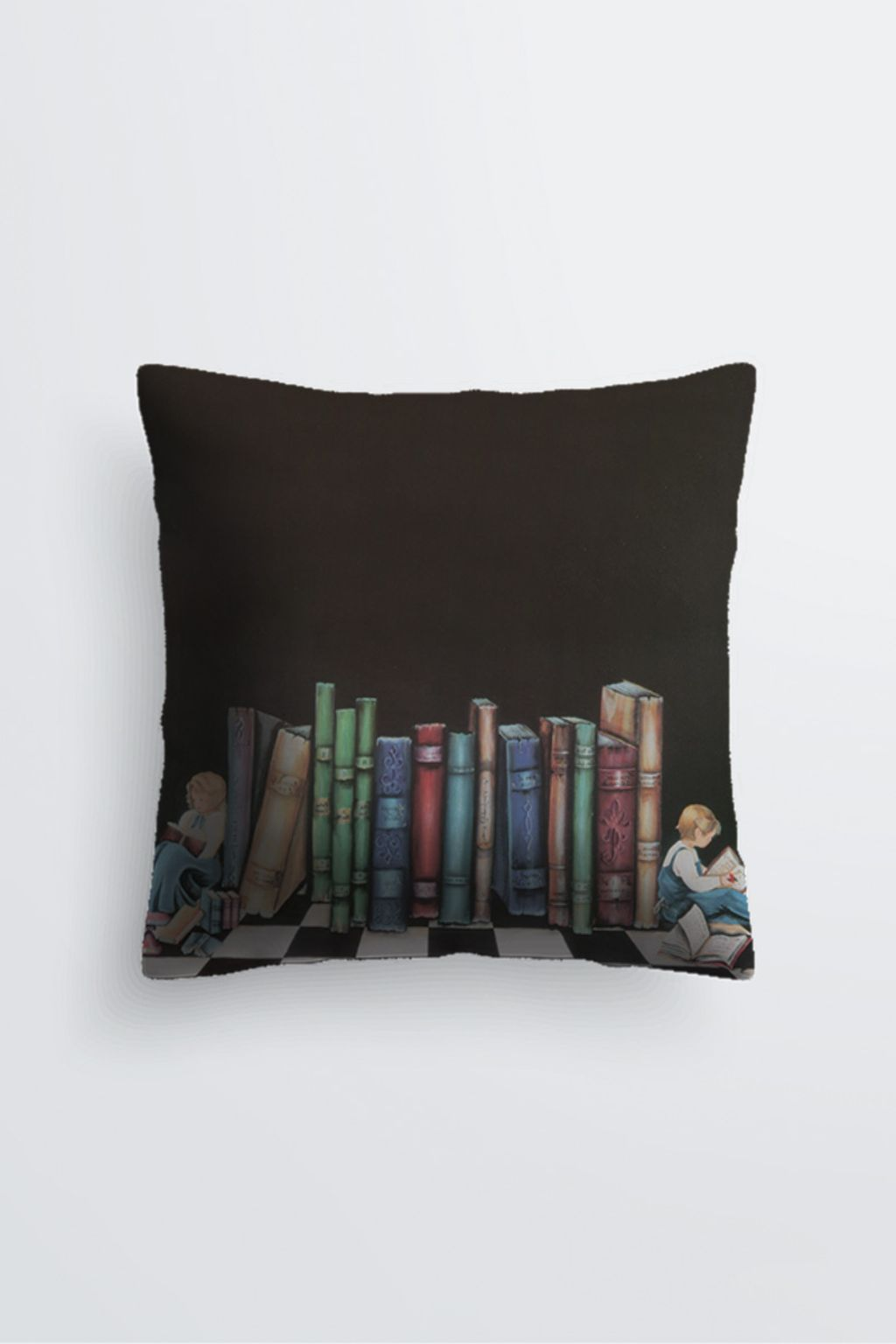 Picture of THE BOOKENDS PABLO PILLOW IN SCUBA KNIT