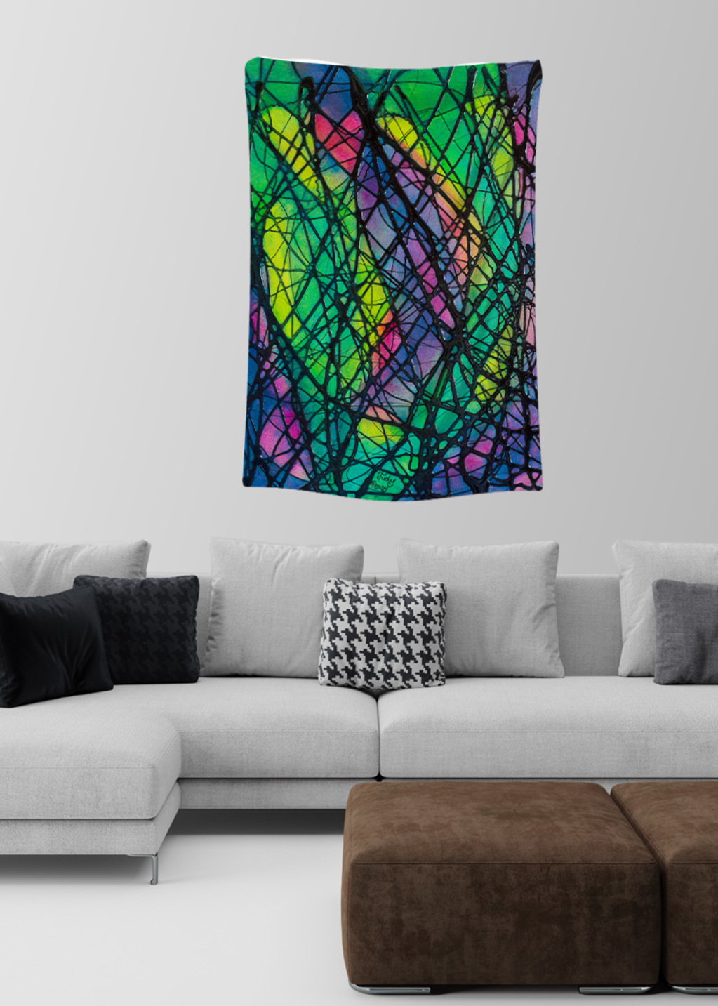 Picture of Northern Lights Amelie Small Wall Tapestry