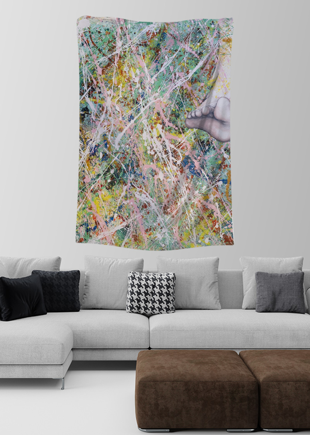 Picture of Moving On Lydia Large Wall Tapestry