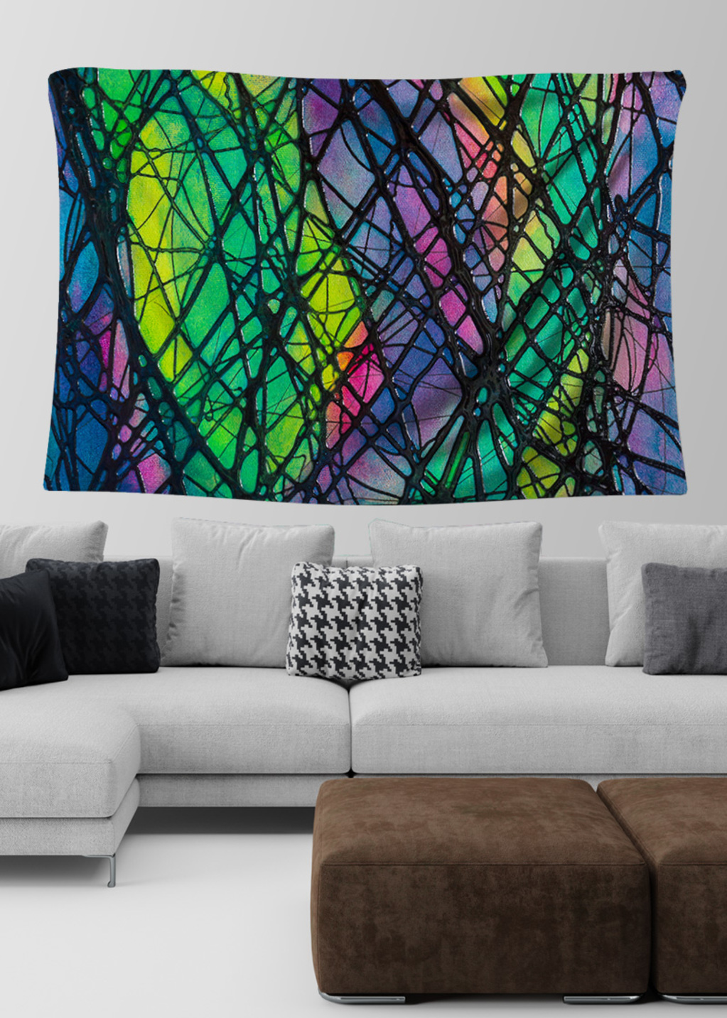 Picture of Northern Lights Lydia Large Wall Tapestry