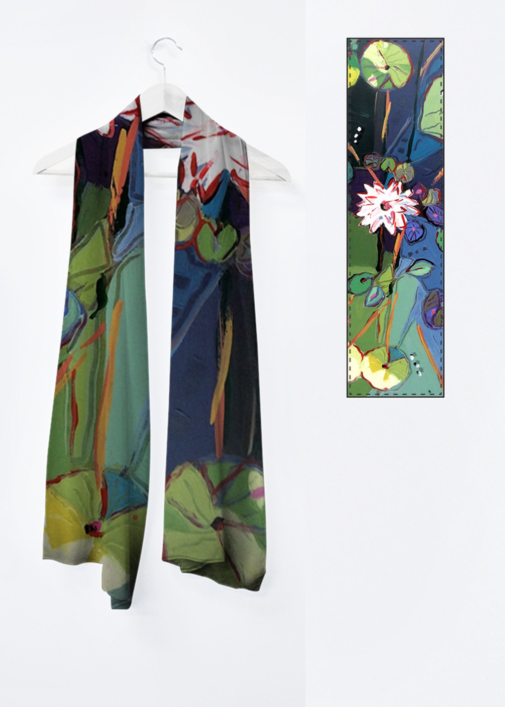 Picture of No Water is Lonely Water 13 Vivienne Scarf