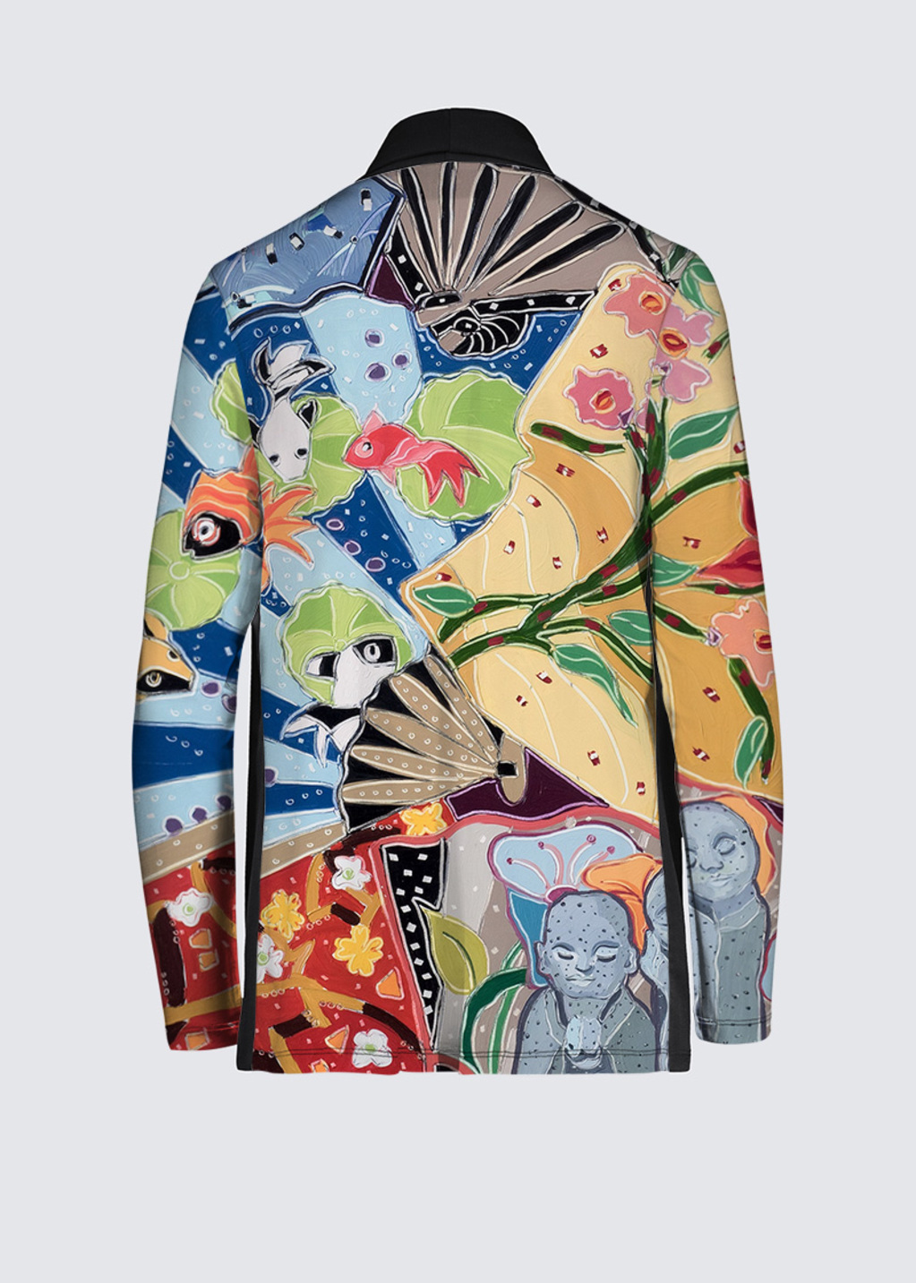 Picture of Little Buddhas Dream of the Floating World Frida Cardigan