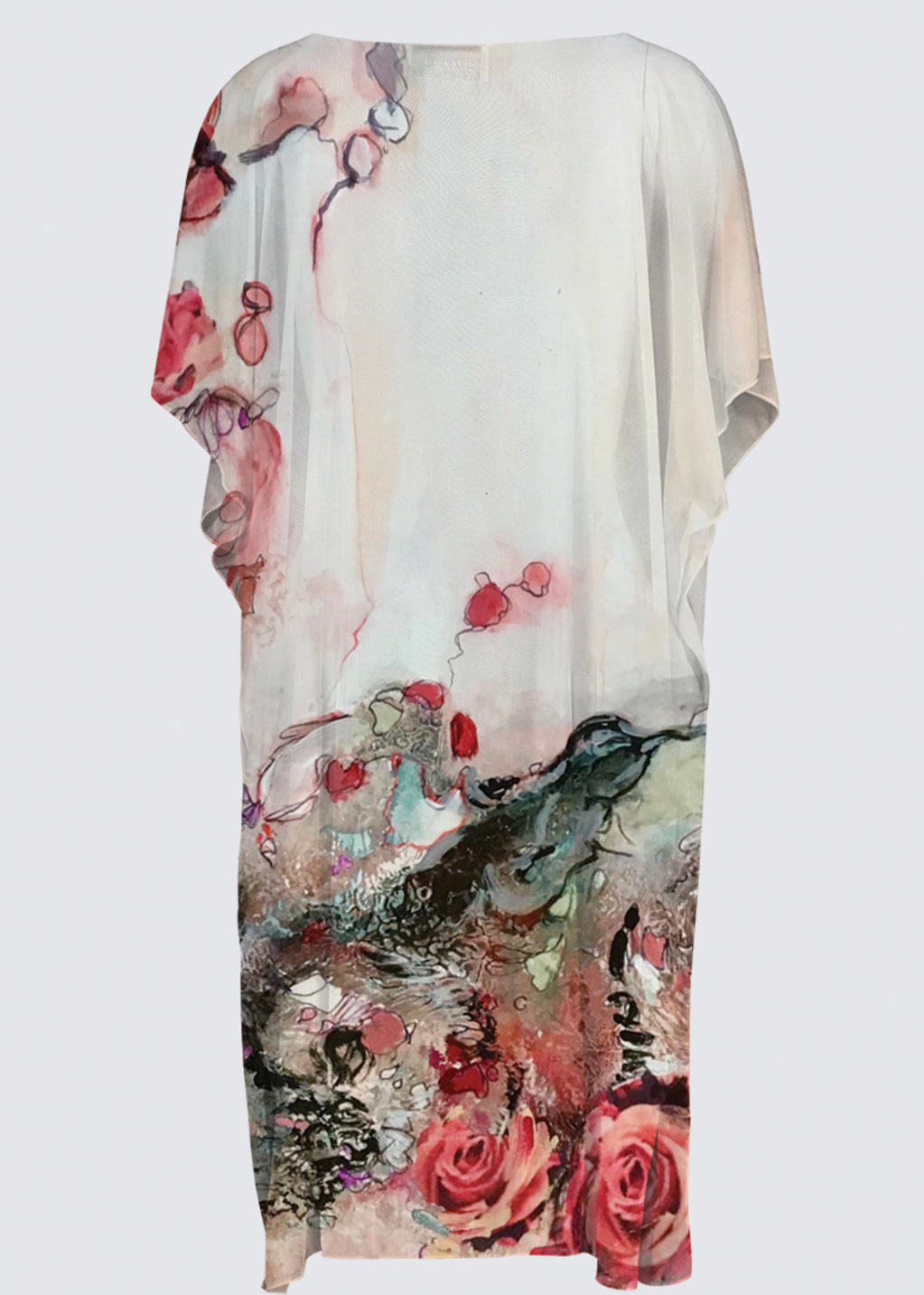Picture of Bed of Roses YK Kimono