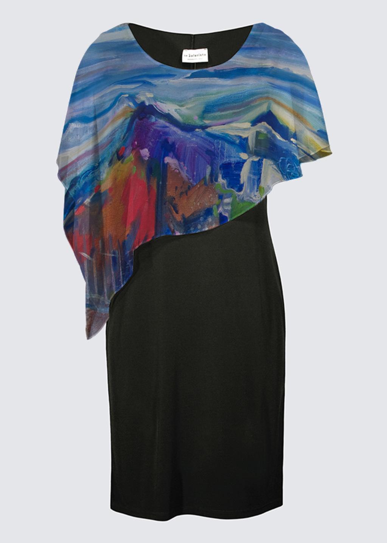 Picture of Pinnacle Moment Joni Cape Dress