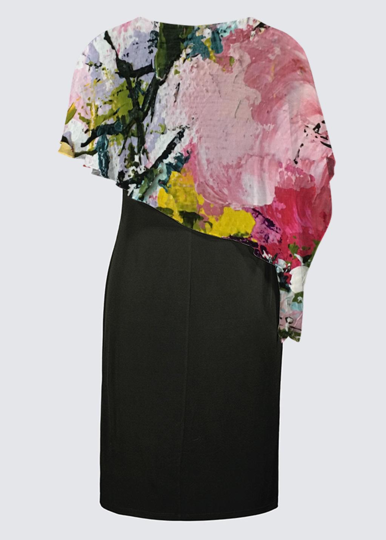 Picture of Bonheur d'occasion Joni Cape Dress