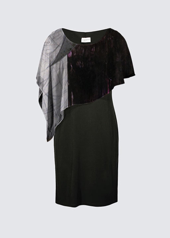 Picture of Untitled Joni Cape Dress