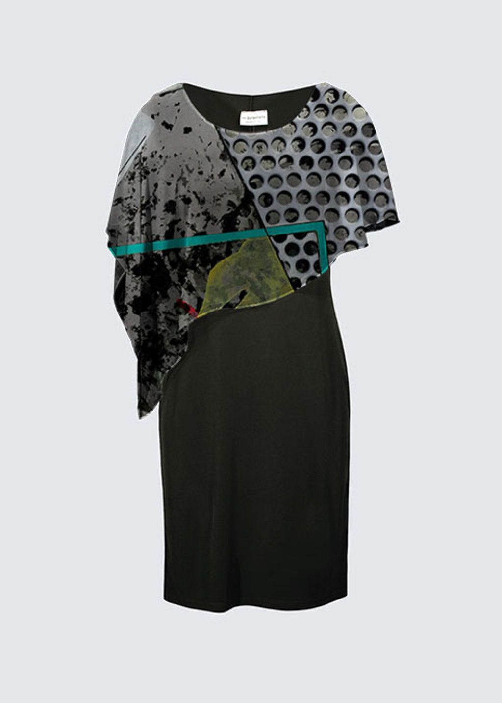 Picture of Crossing the Line Joni Cape Dress