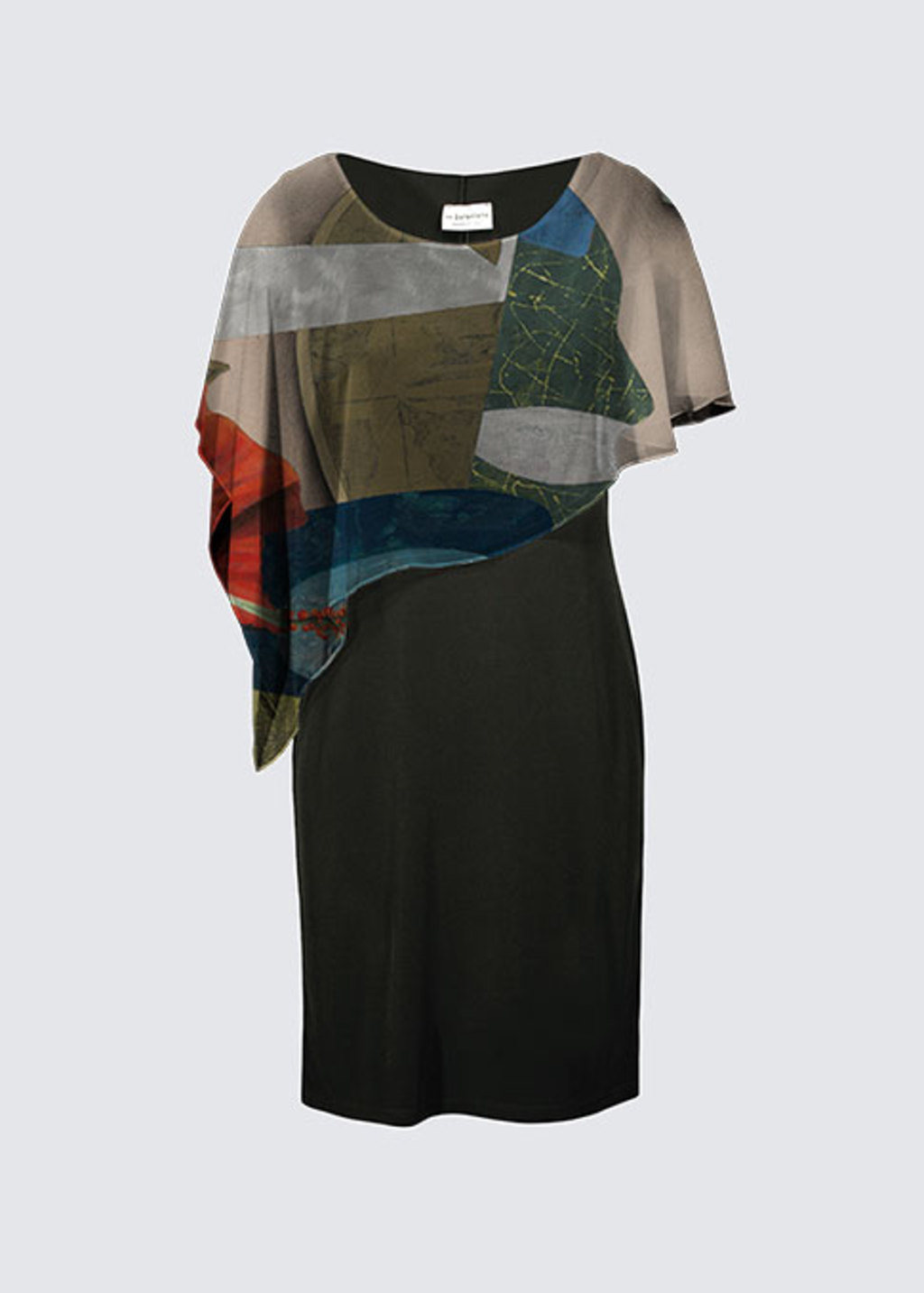 Picture of Through The Window of Time Joni Cape Dress