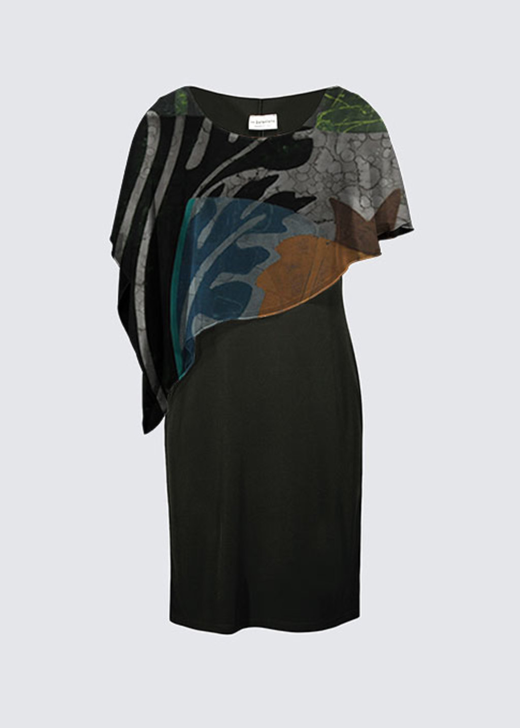 Picture of In the Presence of Your Step Joni Cape Dress