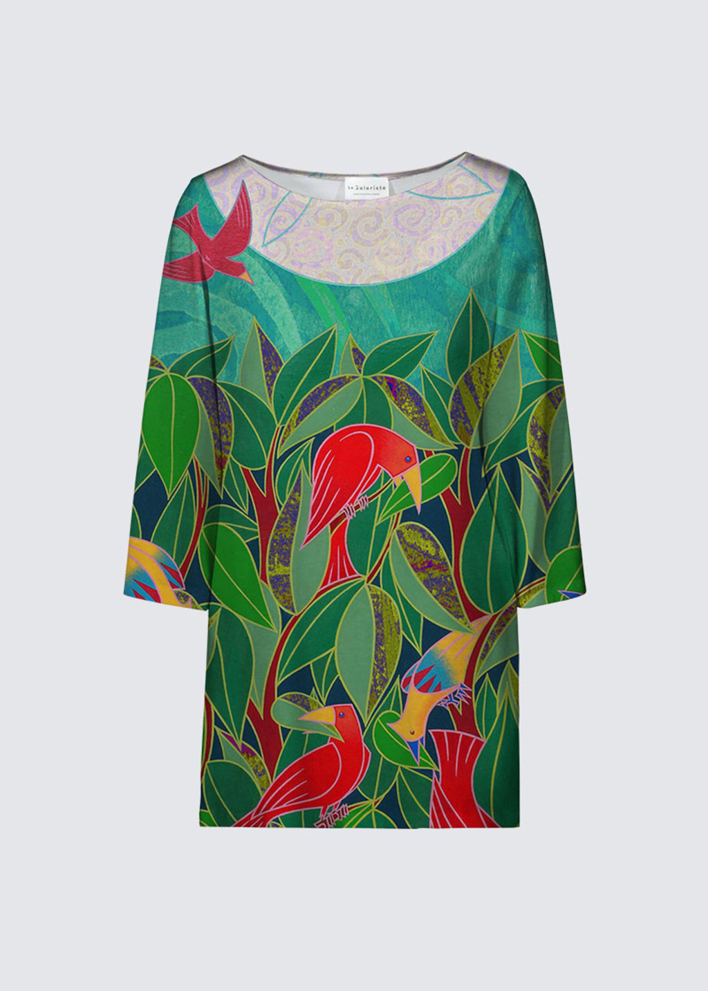 Picture of Feuillage d'oiseaux Patti Tunic