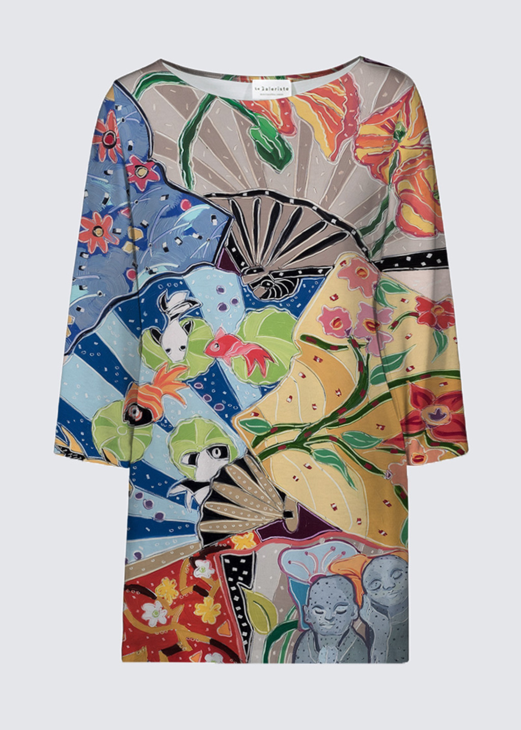 Picture of Little Buddhas Dream of the Floating World Patti Tunic
