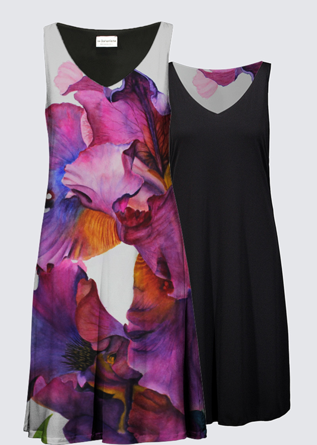 Picture of Purple Majesty Kate Reversible Dress