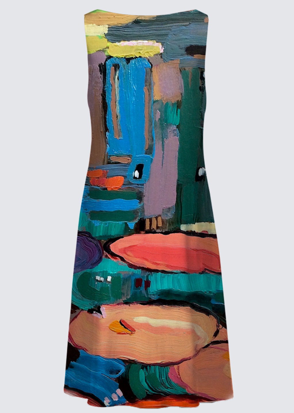 Picture of No Water is Lonely Water 11 Kate Reversible Dress