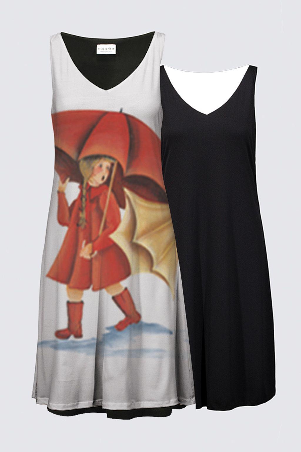 Picture of Slicker Full Pattern Reversible Dress