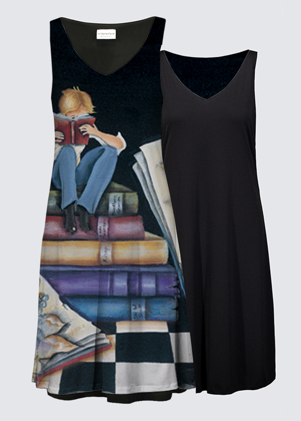 Picture of His Story Reversible Dress