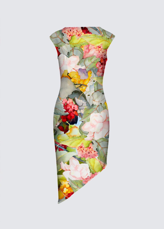 Picture of Norma Bradley Walker Felicia Asymmetric Dress