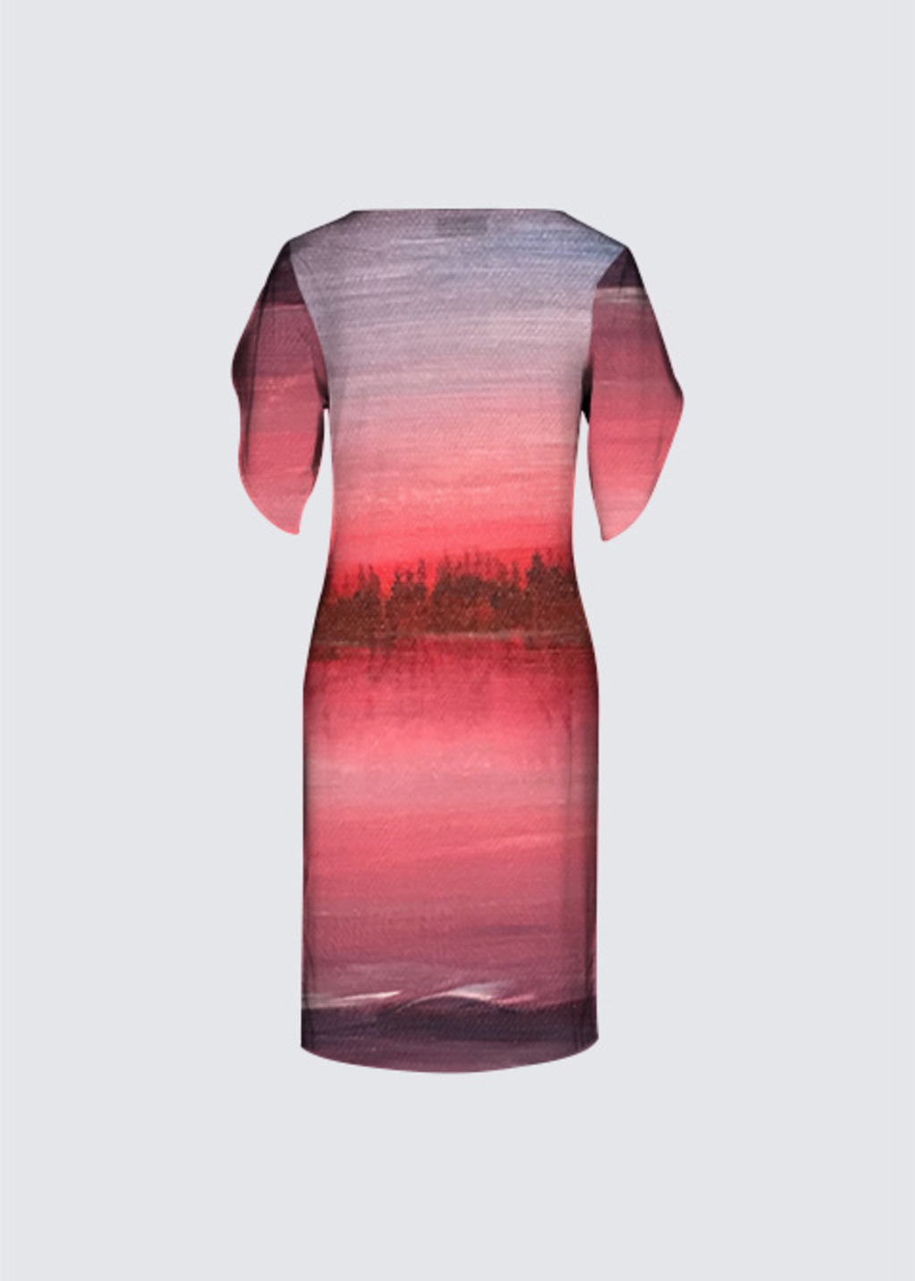 Picture of Sunset Abstract Michelle Dress II