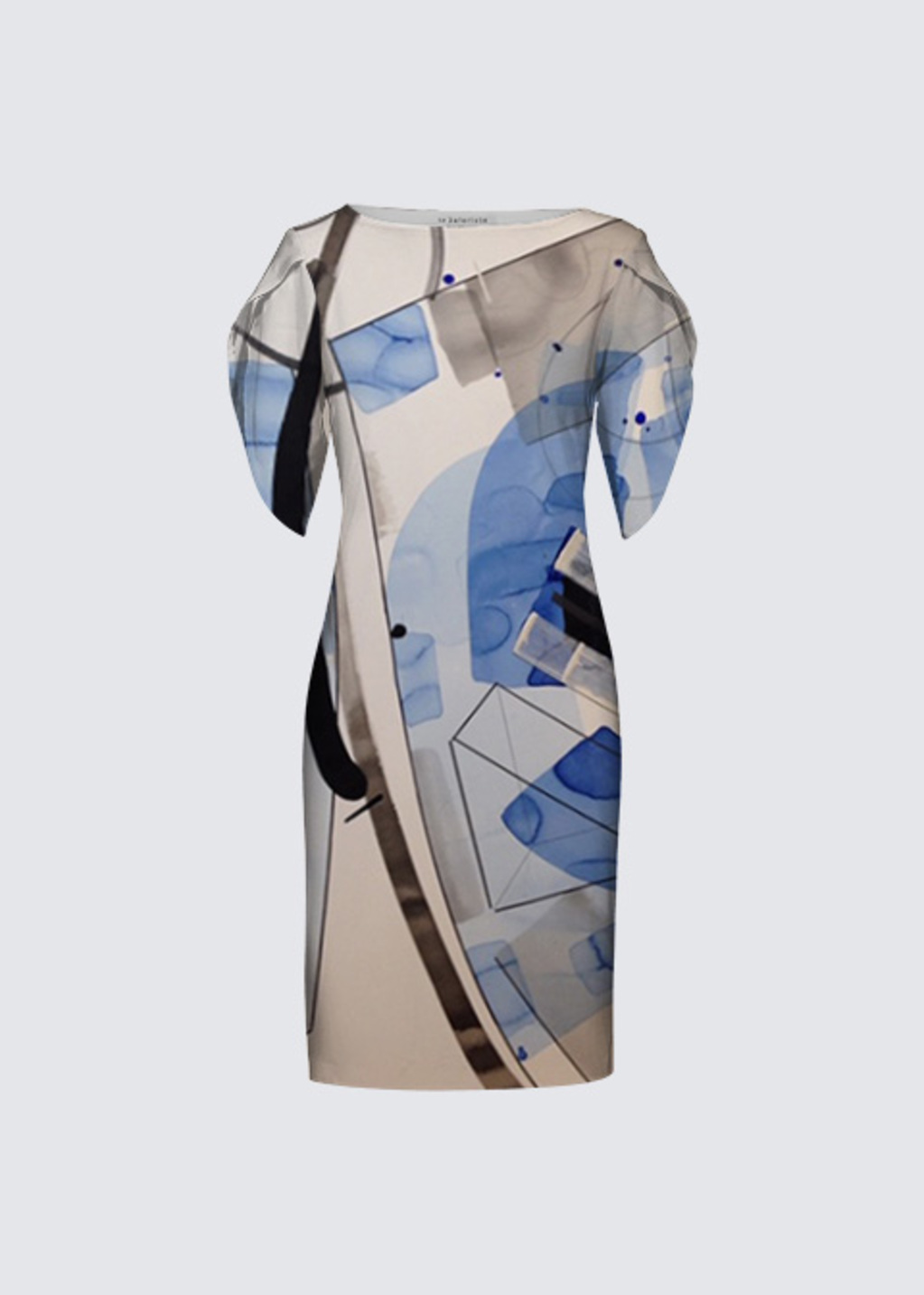 Picture of Whispering Blue Michelle Dress II