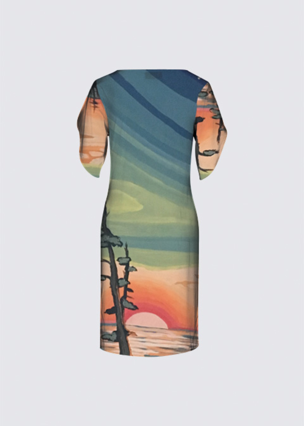 Picture of West coast sunset Michelle Dress II
