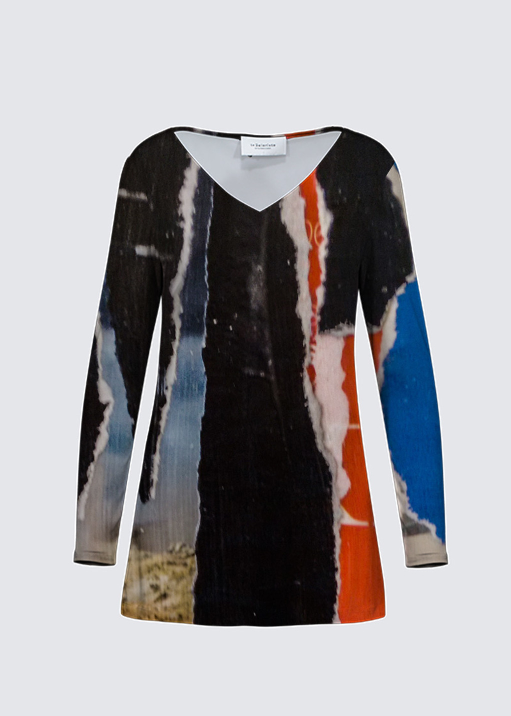 Picture of Red, black and blue Marlene Top