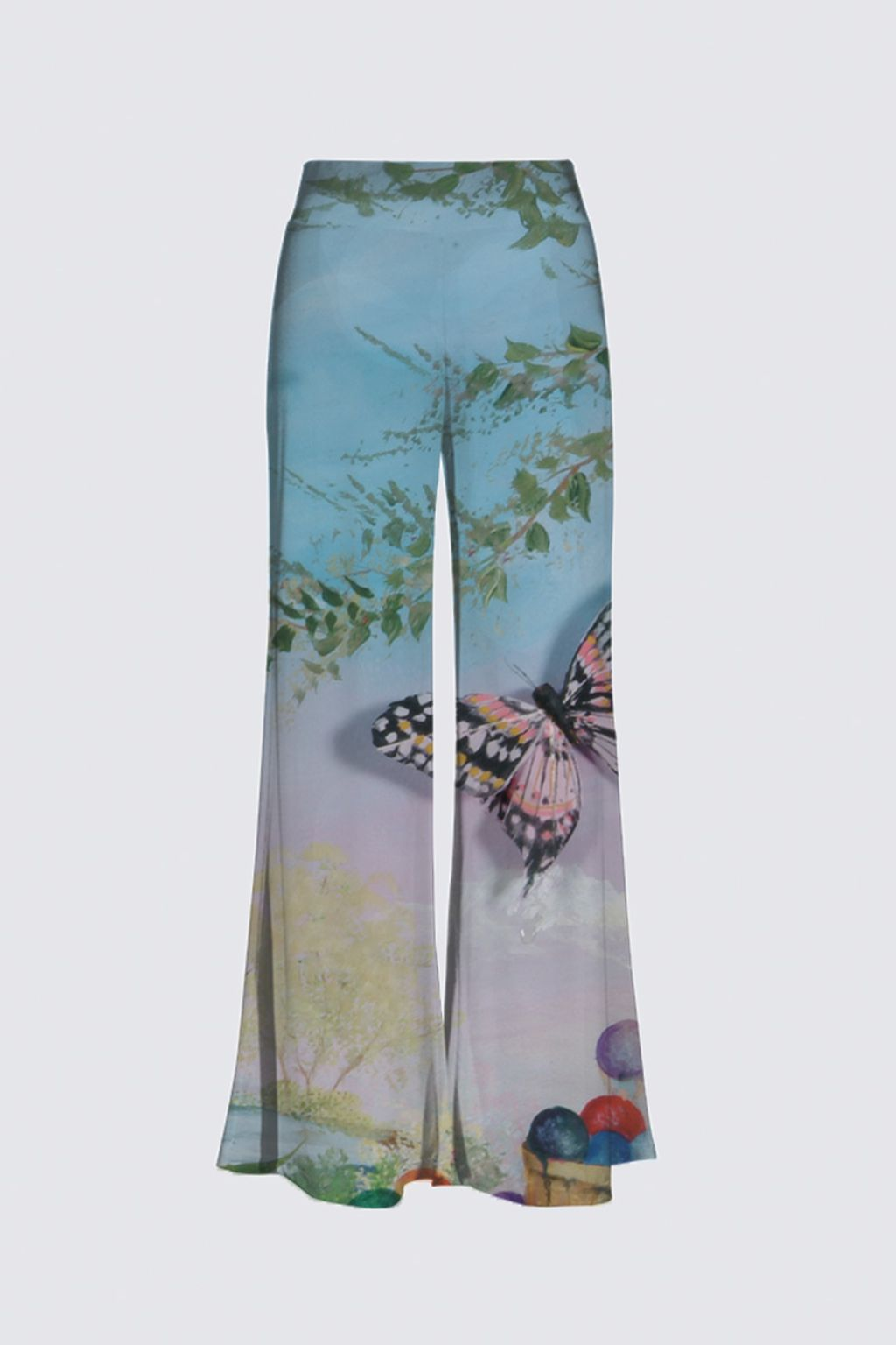 Picture of Butterfly Flies Knee High Palazzo