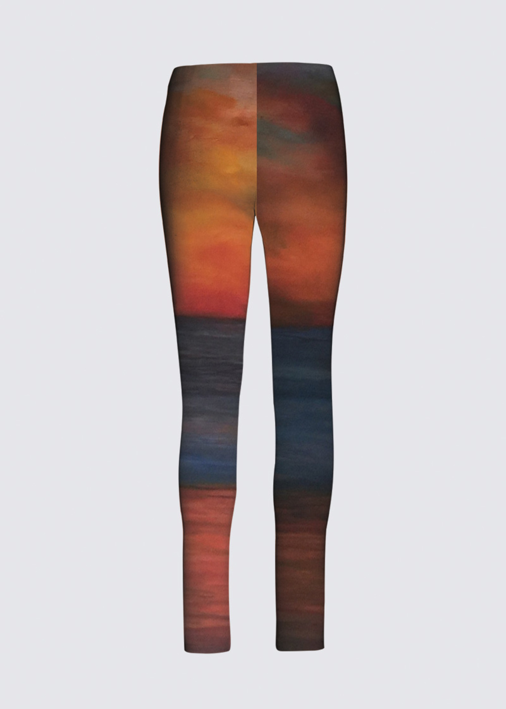 Picture of Sunset Panorama Jackie Leggings in Scuba Knit