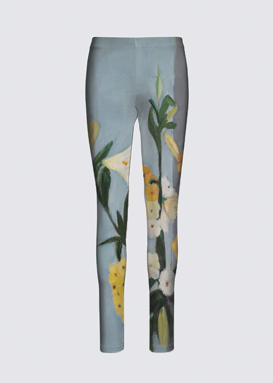 Picture of Flowervase Jackie Leggings in Scuba Knit