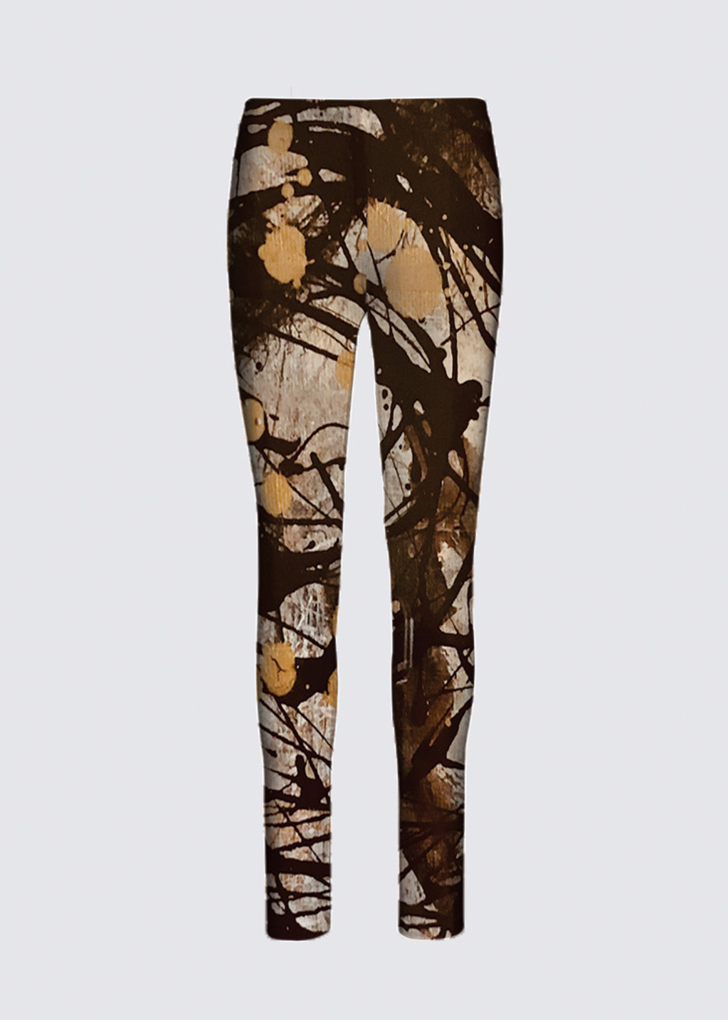 Picture of Swirl of confusion Jackie Leggings in Scuba Knit