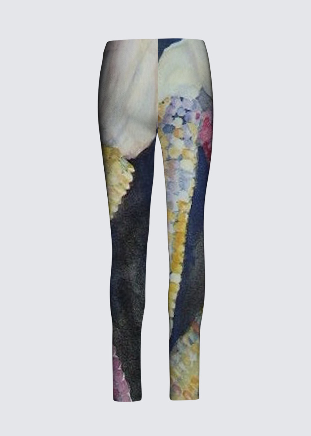 Picture of Indian Corn Jackie Leggings in Scuba Knit