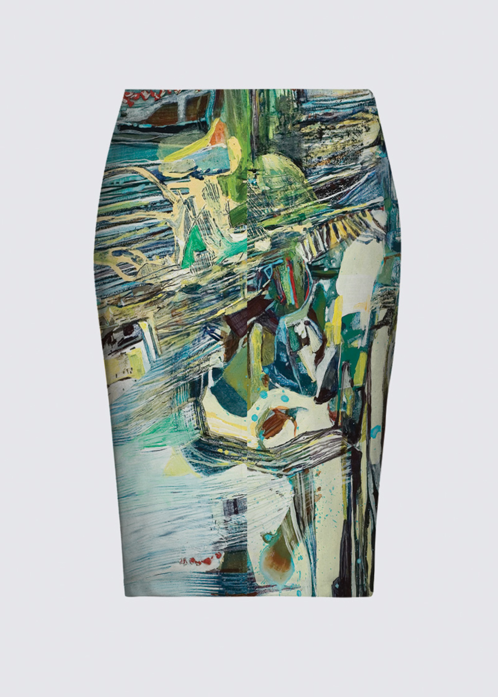 Picture of Crushing Lines Aicha Skirt