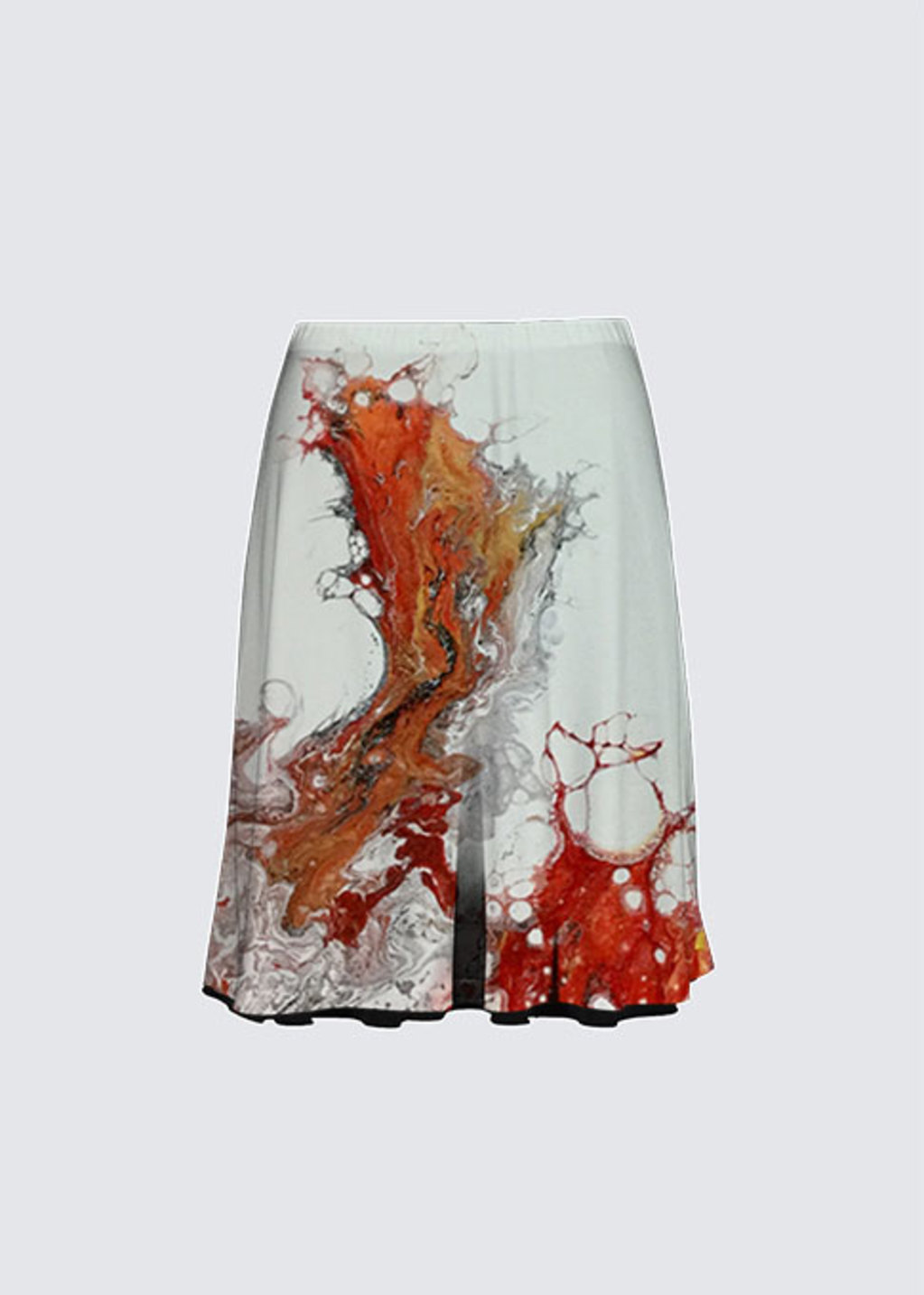 Picture of Corail rouge 3 Alex Skirt