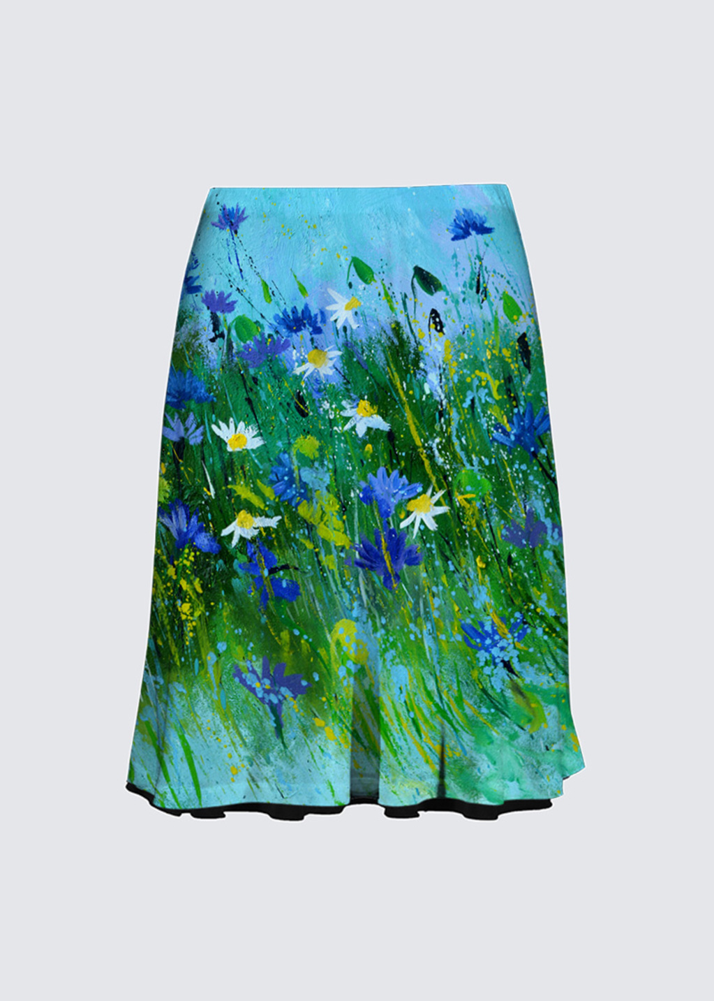 Picture of Blue flowers Alex Skirt